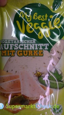 Foto von My Best Veggie Vegetarischer Aufschnitt