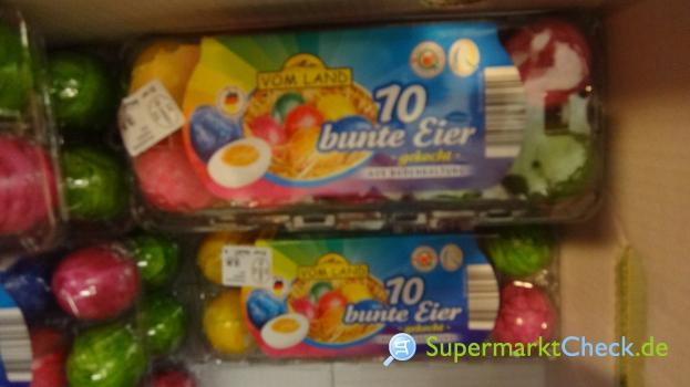 Foto von Vom Land / Netto 10 bunte Eier gekocht