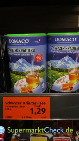 Foto von Domaco Schweizer Kräutertee