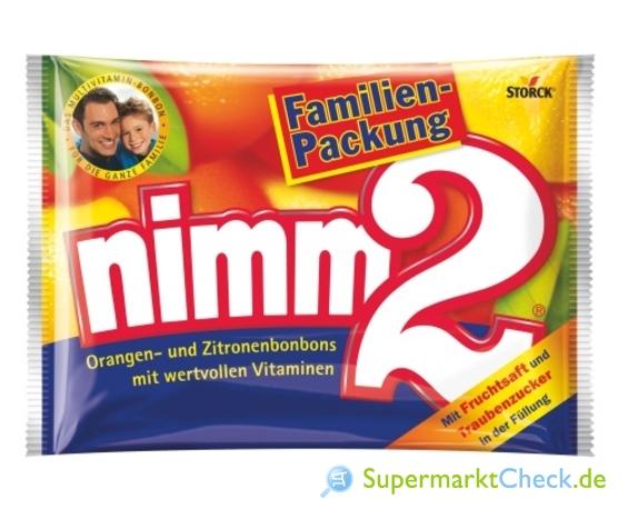 Foto von Storck Nimm 2 Fruchtbonbons Familienpackung