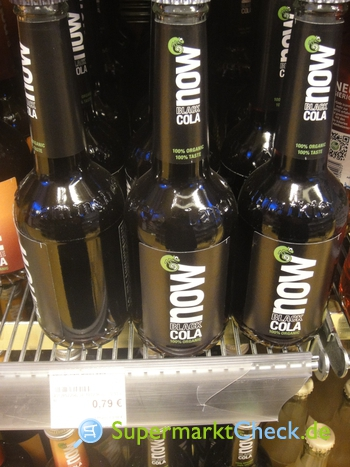 Foto von now Black Cola