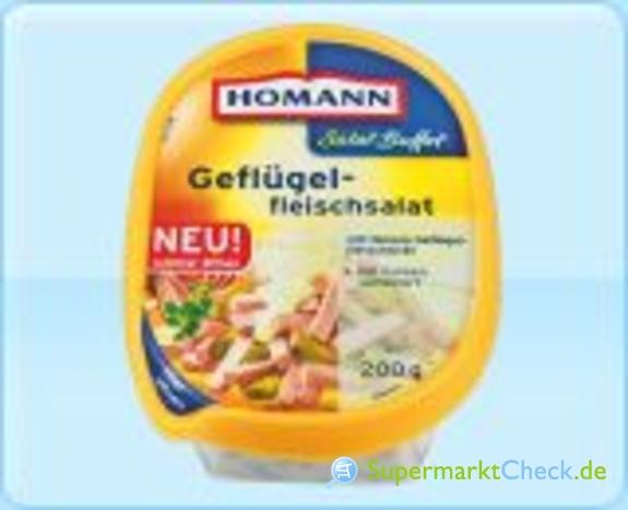Foto von Homann Salat Buffet Geflügelfleischsalat