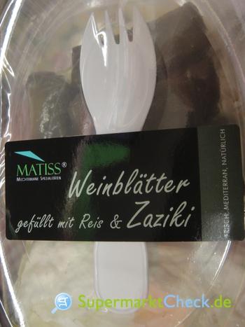 Foto von Matiss Weinblätter