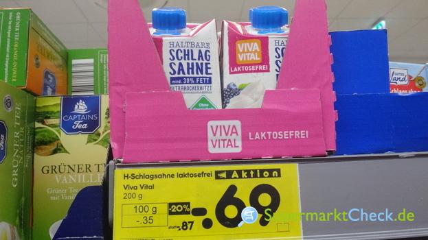 Foto von Viva Vital Haltbare Schlagsahne laktosefrei