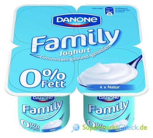 Foto von Danone Family Joghurt