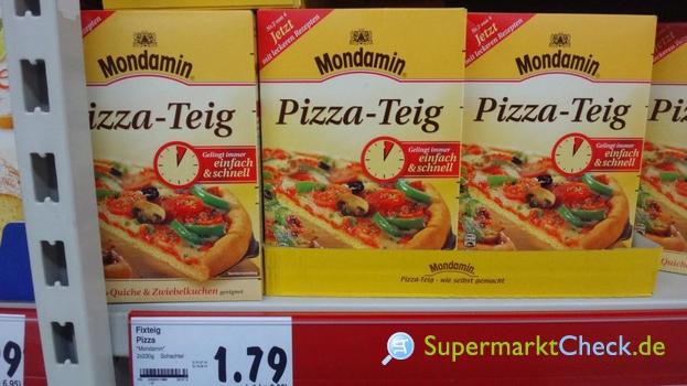 Foto von Mondamin Pizza-Teig