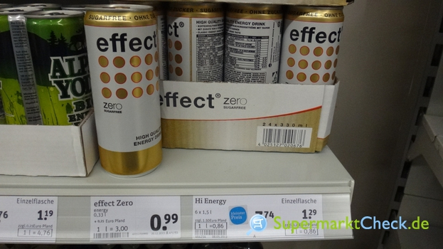 Foto von effect High Quality Energy Drink
