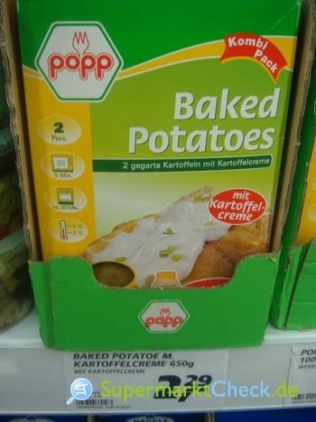 Foto von Popp Feinkost Baked Potatoes