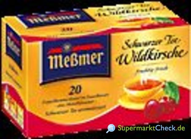 Foto von Meßmer Wildkirsche Tee