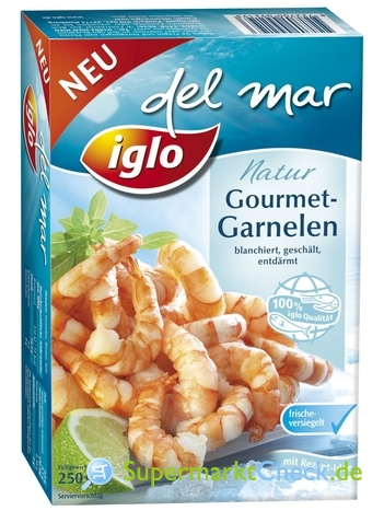 Foto von Iglo del mar Gourmet-Garnelen