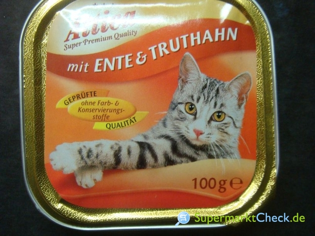 Foto von Attica / Netto Alleinfuttermittel für Katzen