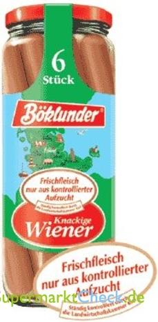 Foto von Böklunder Wiener-Würstchen