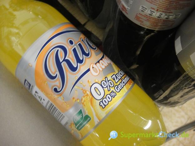 Foto von River Orangenlimonade 0% Zucker