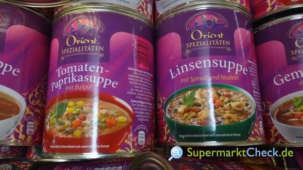 Foto von Orient Spezialitäten Tomaten Paprika Suppe mit Bulgur