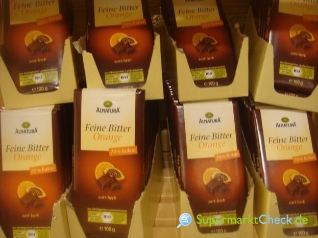 Foto von Alnatura Feine Bitter Orange Schokolade