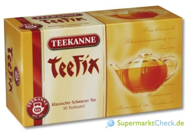 Foto von Teekanne TeeFix Das Original Klassischer Schwarzer Tee