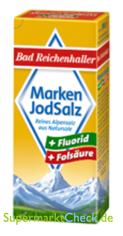 Foto von Bad Reichenhaller  Marken Jodsalz