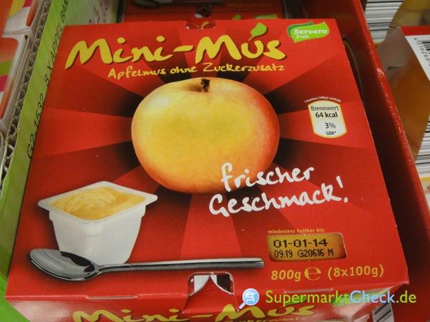Foto von Servero Fruit Mini Mus