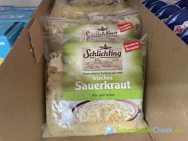 Foto von Schlichting frisches Sauerkraut