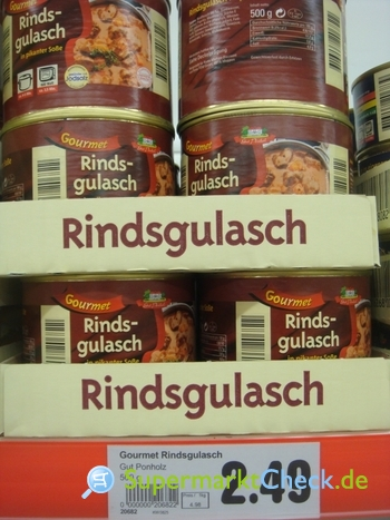 Foto von Gut Ponholz Gourmet Rindsgulasch