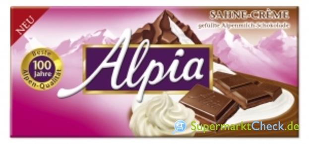 Foto von Alpia Sahne-Creme Schokolade