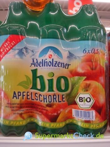 Foto von Adelholzer Bio Apfelschorle