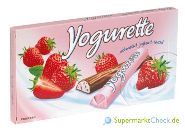 Foto von Yogurette Erdbeere