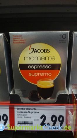 Foto von Jacobs momente Espresso Supremo