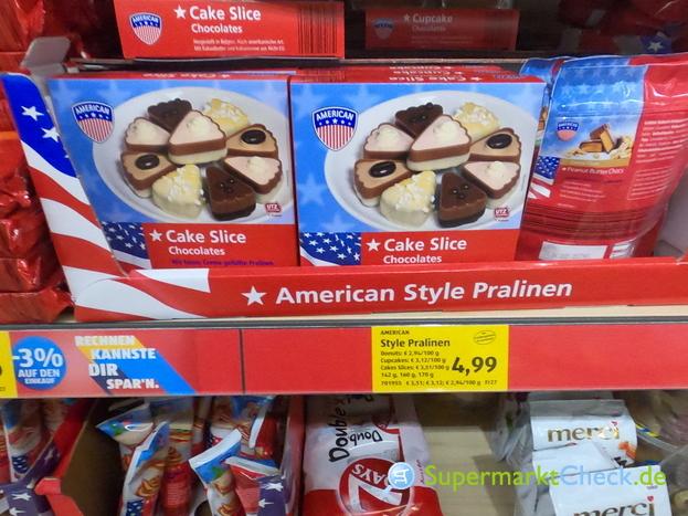 Foto von American Cake Slices Chocolates
