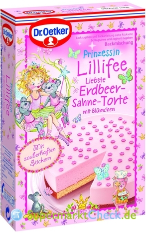 Foto von Dr. Oetker Prinzessin Lillifee Liebste