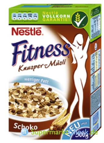 Foto von Nestle Fitness Knusper Müsli