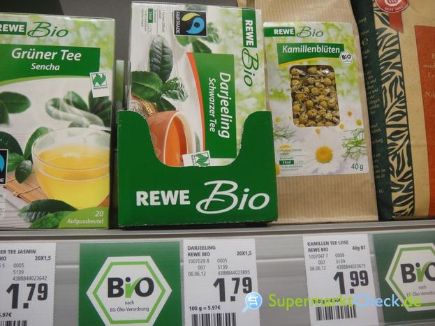 Foto von Rewe Bio Grüntee