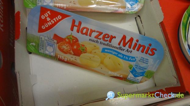 Foto von Gut & Günstig Harzer Minis