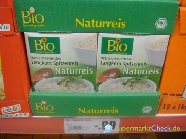 Foto von Bio Naturreis