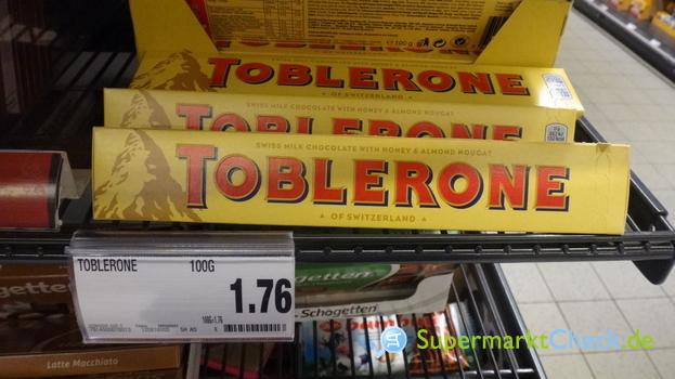Foto von Toblerone Milch Tafel