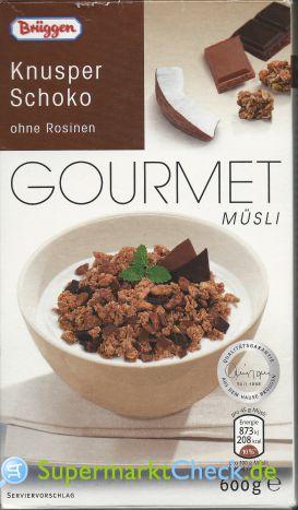 Foto von Brüggen Gourmet Müsli