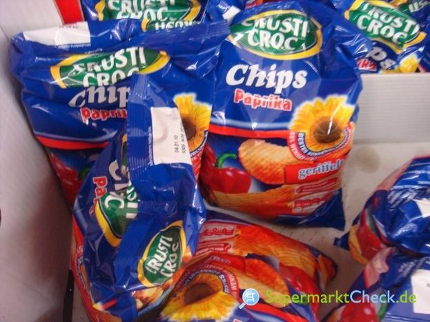 Foto von Crusti Croc Crincle Cut Geriffelte Chips
