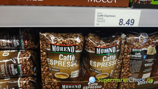 Foto von Moreno / Aldi Nord Caffe Espresso