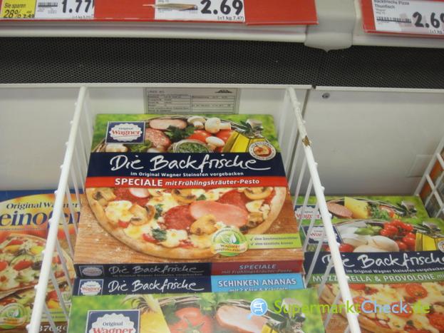 Foto von Wagner Die Backfrische Pizza