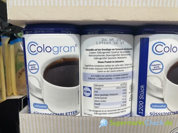 Foto von Cologran Süßstofftabletten