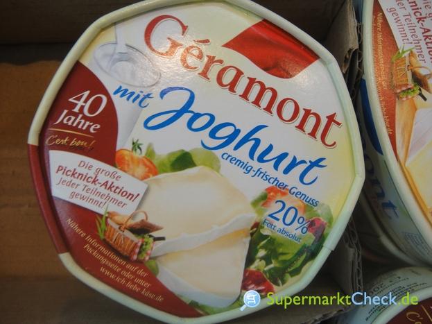 Foto von Geramont mit Joghurt