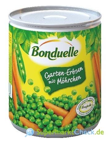 Foto von Bonduelle Garten-Erbsen mit Möhrchen
