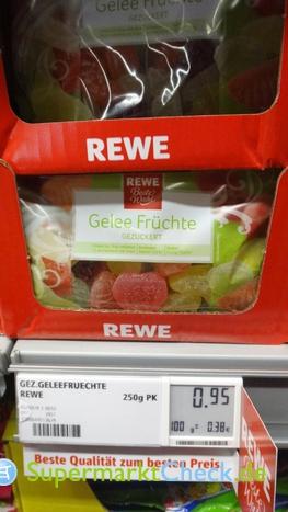 Foto von REWE Beste Wahl Gelee Früchte