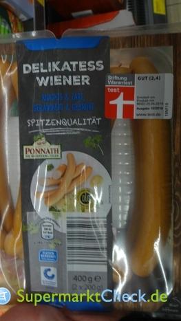 Foto von Ponnath Wiener Würstchen