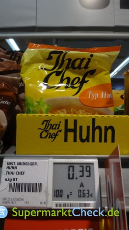 Foto von Thai Chef Instantnudelgericht