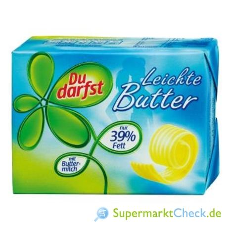 Foto von Du darfst leichte Butter