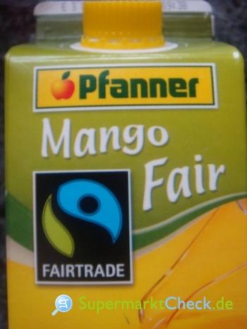 Foto von Pfanner Mango Fair