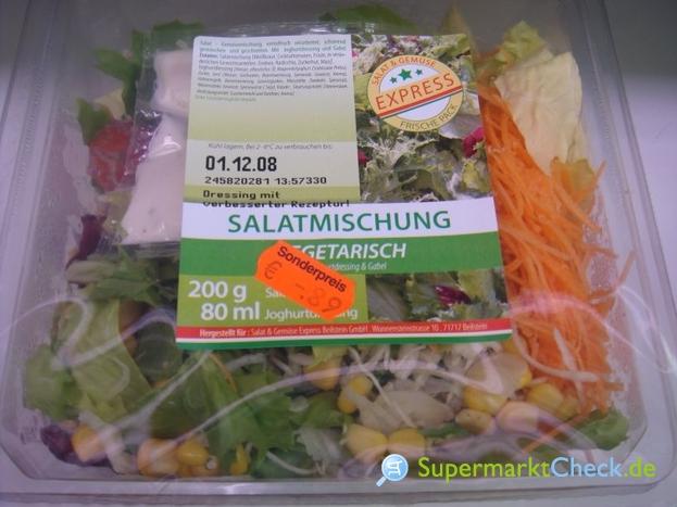Foto von Salat und Gemüse Express Salatmischung