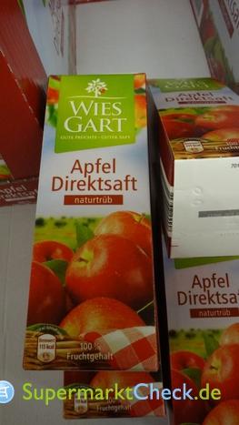 Foto von Wies Gart / Aldi Nord Apfel Direktsaft