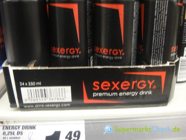Foto von sexergy Energy drink